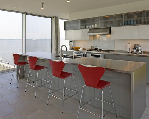 galley kitchens with stainless steel appliances stainless steel surround houzz