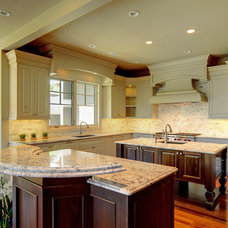 Traditional Kitchen by Maillot Homes