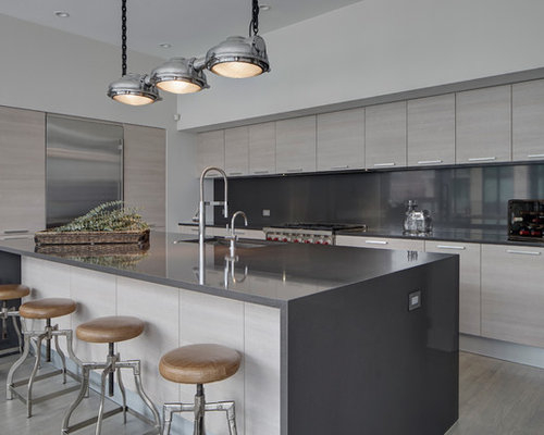 Contemporary Chicago Kitchen Design Ideas Remodel Pictures Houzz