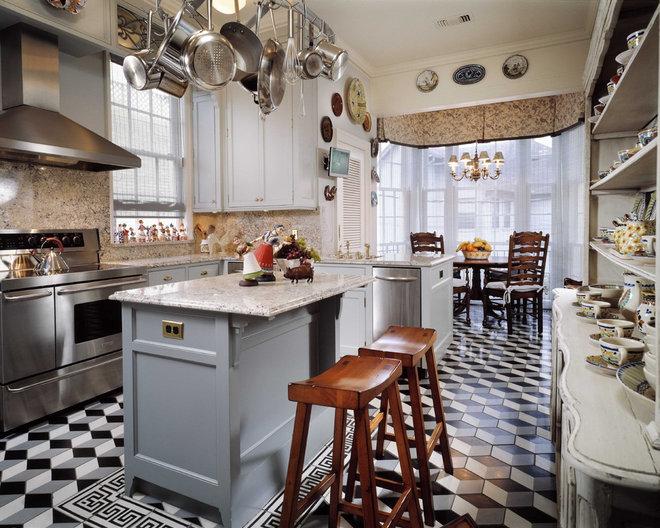 Traditional Kitchen by Ike Kligerman Barkley