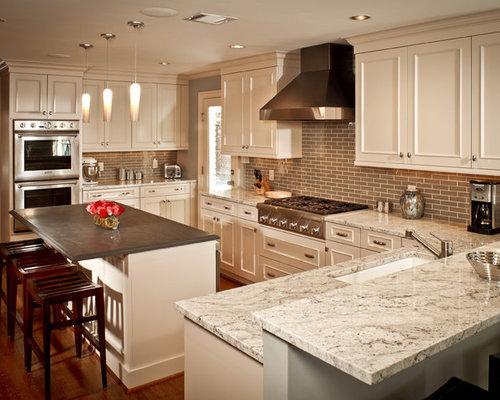 Bianco Romano Granite Countertop Houzz