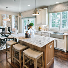 Transitional Kitchen by Mary Cook