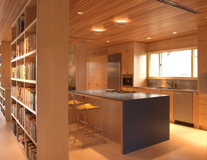 midcentury kitchen by Tom Hurt Architecture