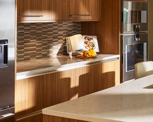 Edmonton Kitchen Design Ideas Renovations Photos With Cement Tile Spla