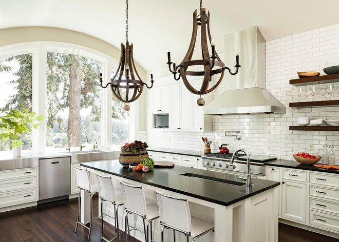 Contemporary Kitchen by Jenni Leasia Design