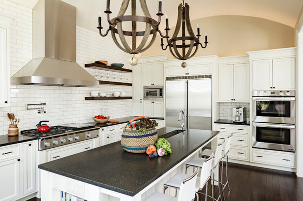 Traditional Kitchen by Jenni Leasia Design