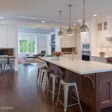 Farmhouse Kitchen by Argus Development LLC