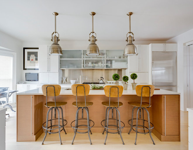 Contemporary Kitchen by Norcross and Scott