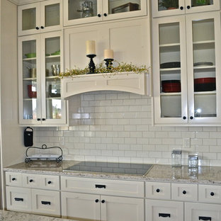 Open Concept Kitchen Traditional Idea In Boise With A Farmhouse Sink