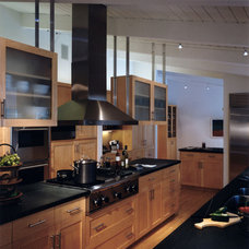 Transitional Kitchen by mark gerwing