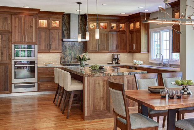Traditional Kitchen by Lenore Weiss Studios, LLC