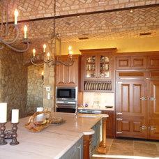 Mediterranean Kitchen by RJ Aldriedge Companies Inc