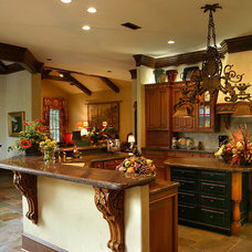 Mediterranean Kitchen by RJ Aldriedge Companies Inc