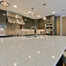 Contemporary Kitchen by Bauhaus Custom Homes