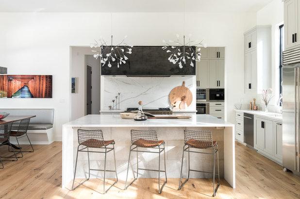 Farmhouse Kitchen by Jennifer Garner Interiors