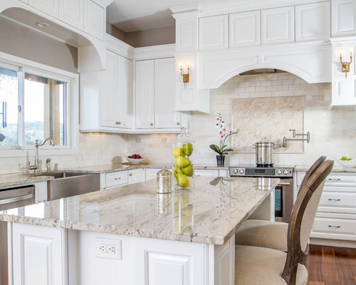 colonial white granite design ideas remodel pictures houzz. Black Bedroom Furniture Sets. Home Design Ideas
