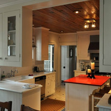 Traditional Kitchen by Frederick + Frederick Architects