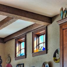 Farmhouse Kitchen by Robert J Erdmann Design, LLC