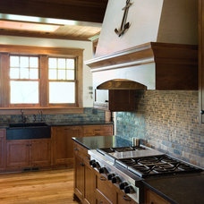 Traditional Kitchen by Robert J Erdmann Design, LLC