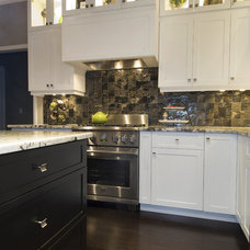 Contemporary Kitchen by DeGeorge Ceilings Flooring and Custom Cabinetry