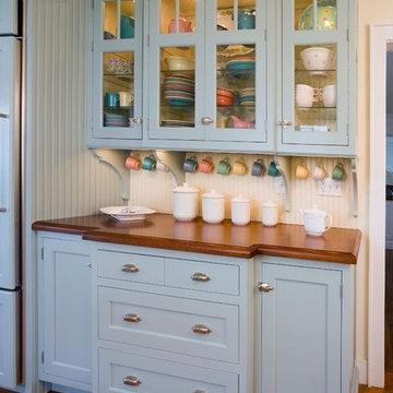 Robin's Egg Gallery Kitchen