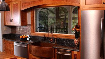 Roble Burl Kitchen