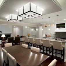Traditional Kitchen by kevin akey - azd architects - michigan