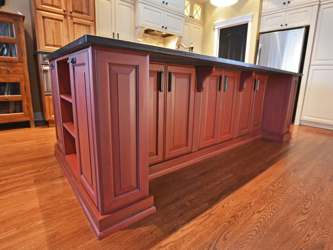 Traditional Kitchen by Rock Point Cabinets