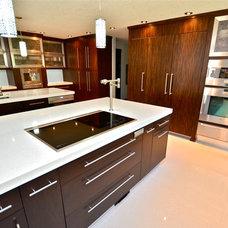 Modern Kitchen by Rock Point Cabinets