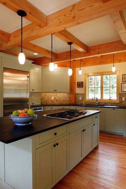 Rustic Kitchen by Sullivan Building & Design Group