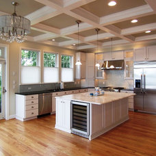 Traditional Kitchen by M. Woodruff/ American Cedar & Millwork/ Maryland