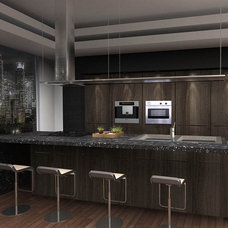 Modern Kitchen by Uribe Studio Inc.