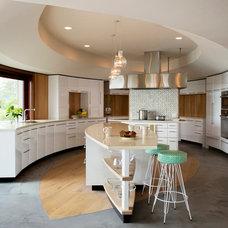 Contemporary Kitchen by Hutker Architects