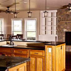 Traditional Kitchen by Bungalow House Plans