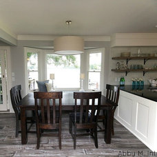 Transitional Kitchen by Abby M. Interiors
