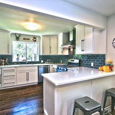 Contemporary Kitchen by Clayton Bernard