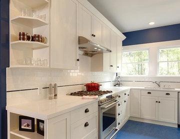 Rockridge Craftsman Kitchen Remodel