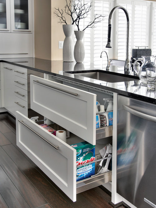 Inspiration For A Large Contemporary U Shaped Eat In Kitchen Remodel In DC  Metro