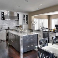 Contemporary Kitchen by JACK ROSEN CUSTOM KITCHENS