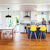Kitchen of the Week: White, Wood and Navy Updates in Oregon