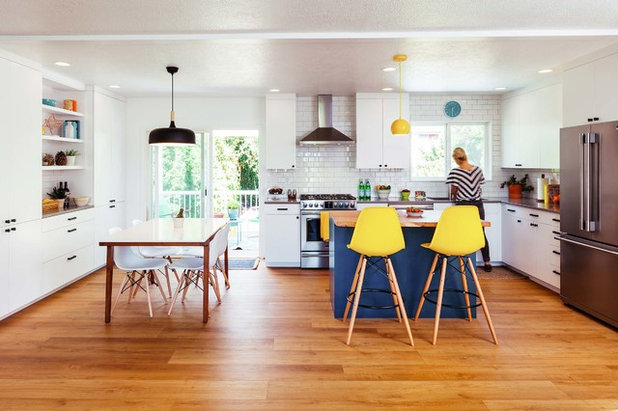 Kitchen of the week white wood and navy updates in oregon workwithnaturefo