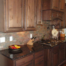 Traditional Kitchen by Stone Cottage Homes