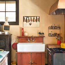 Rustic Kitchen by Bob Greenspan Photography