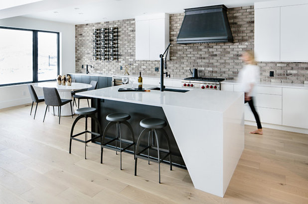 Contemporary Kitchen by Fawdry Homes Ltd