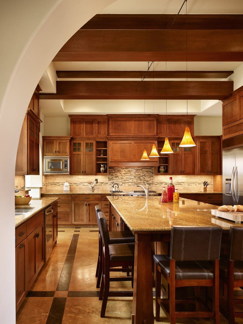 Shaped kitchen design ideas renovations amp photos with matchstick