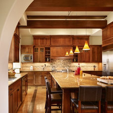 Craftsman Kitchen by Cornerstone Architects