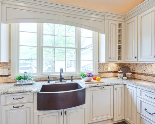 Arched Valance Over Sink