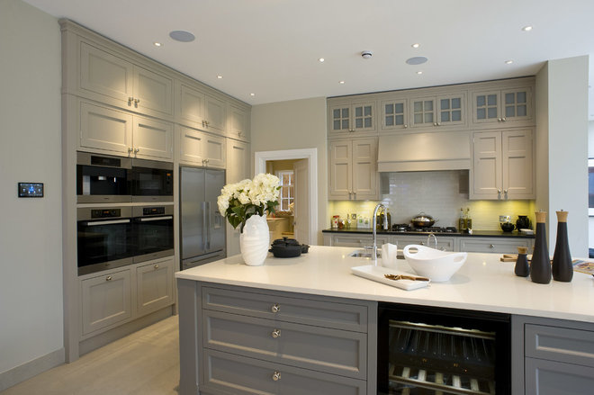 Transitional Kitchen by Inspired Dwellings