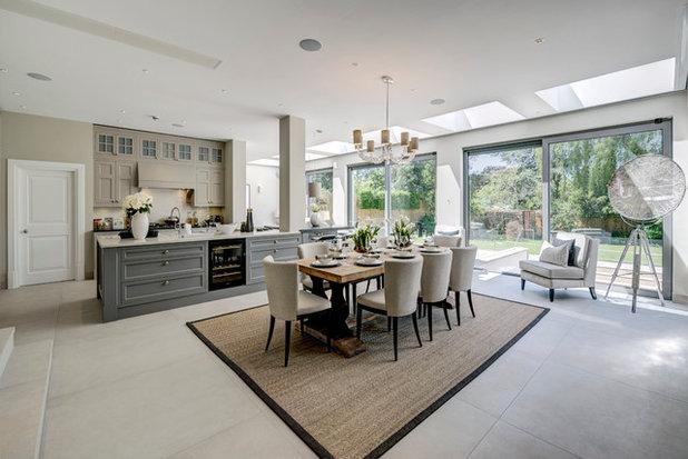 Transitional Kitchen by Milc Property Stylists