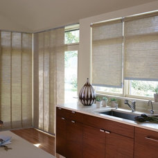 Modern Kitchen by Alluring Window NYC- Window Treatments